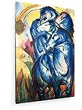 weewado Franz Marc - Der Turm der blauen Pferde 80x120 cm