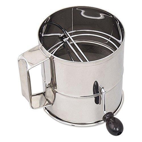 Browne Foodservice 1260 Tamis à farine en acier inoxydable 8 tasses Par Browne Foodservice
