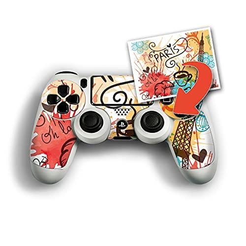 atFolix Personalisierbare Designfolie kompatibel mit Sony Playstation 4 Controller - gestalte deinen Skin Aufkleber im Custom-Konfigurator einfach selbst
