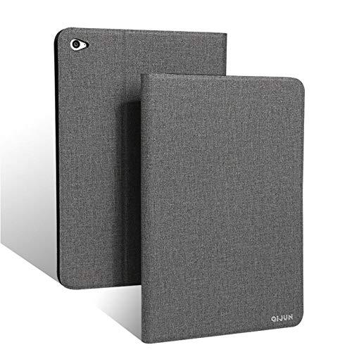 qq666 Für Asus Zenpad S 8.0 Hülle Z580 Z580C QIJUN Tablet Hülle für ZenpadS 8 Z580CA 8.0Slim Flip Cover WeicheSchutzhülle-Grau
