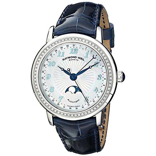 [レイモンド・ウィル] Raymond Weil 腕時計 Women's Maestro Analog Display Swiss Automatic Blue Watch スイス製自動巻 2739-LS3-05909 レディース [バンド調節工具&高級セーム革セット]【並行輸入品】