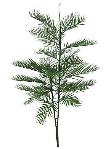 artplants.de Set 'Palmera Kentia Artificial + Spray de protección UV' - Palma Kentia Decorativa NAIKA, con Vara de fijación, 150cm