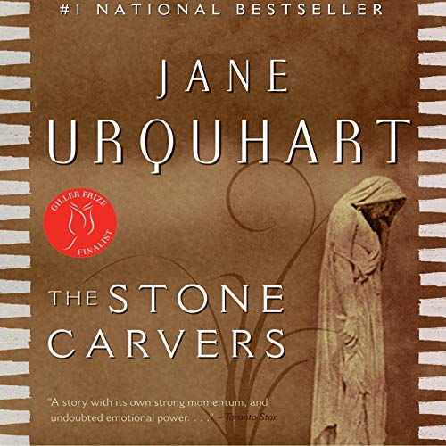 The Stone Carvers audiobook cover art