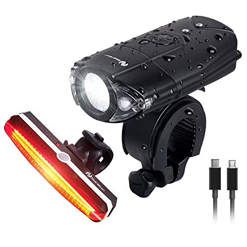 NearMoon USB Rechargeable Bike Light Set