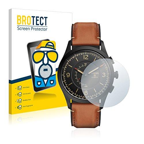 BROTECT 2X Entspiegelungs-Schutzfolie kompatibel mit Fossil Q Activist Bildschirmschutz-Folie Matt, Anti-Reflex, Anti-Fingerprint
