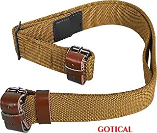 GOTICAL Tactical Soldier Military WW2 WWII Reproduction Russian Soviet Army Canvas Mosin Nagant 91/30 91-30 7.62x54 Rifle Sling