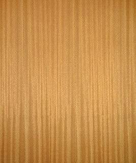 Sapele Wood Veneer, Quarter Cut, Premium Grade, 4'x8' PSA Adhesive Back