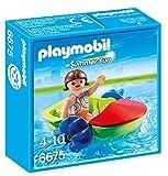 PLAYMOBIL- Summer Fun Bote para Niños Playsets de Figuras de Juguete, Multicolor (6675)