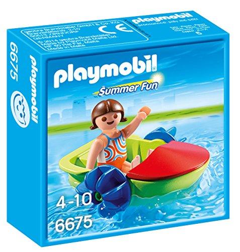 PLAYMOBIL  Summer Fun Bote para Niños Playsets
