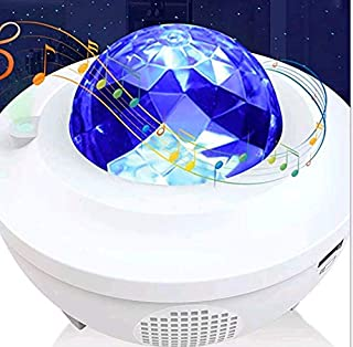 Night Light Projector, LBell 3 in 1 Ocean Wave Projector Star Projector w/LED Nebula Cloud& Moon for Baby Kids Bedroom/Gam...