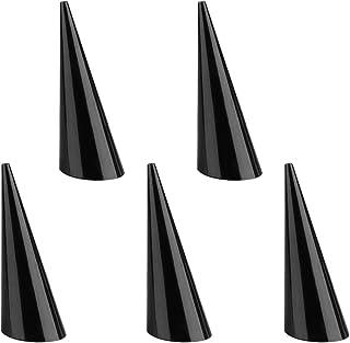 Turbobm 5 PCS en Plastique Finger Cone Ring Stand Bijoux Pr/ésentoir Pr/ésentoir Show Case Fantaisie Acrylique Bijoux Finger Ring Affichage Anneau Titulaire Bijoux Stand Dexposition