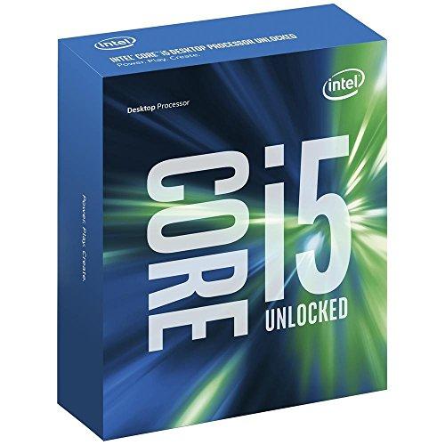 Intel BX80677I57600K CPU Intel-Core i5-7600K Processor 6M Cache, bis zu 4.20 GHz grau