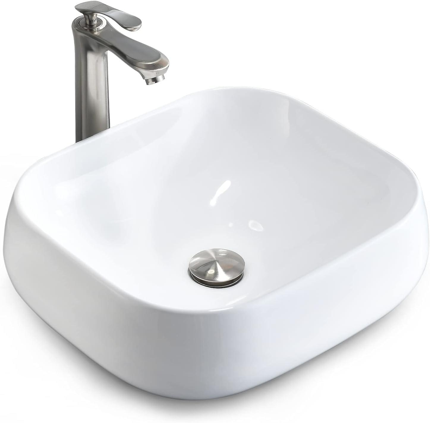 Bathroom 永遠の定番モデル Lavatory Vanity Vessel Sink BoomHoze Above Por Counter ファクトリーアウトレット