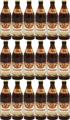 Brauerei Greif - Bernsteinweizen (18 Flaschen) I Bierpaket von Bierwohl