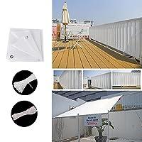 日除けシェード 目隠しシート サンシェード クールシェード 長方形 軽量 撥水 耐久性 洗濯可能 インシュロック付き 取付簡単