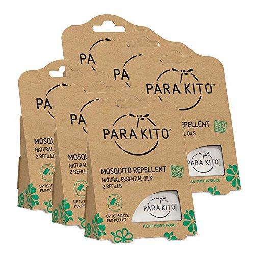 Para'Kito Mosquito Repellent (6 x 2 Refills)