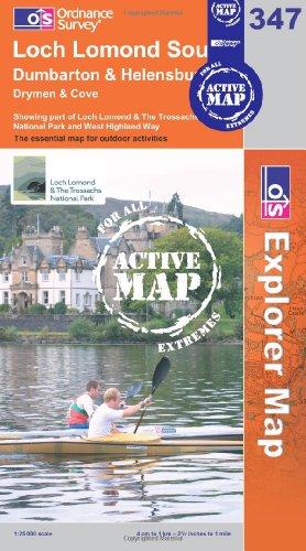 OS Explorer map 347 : Loch Lomond South
