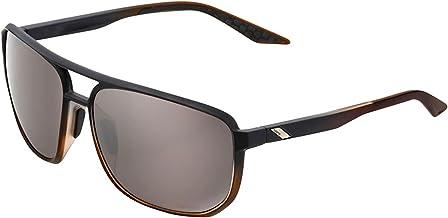 100% GAFAS Konnor-Matte Translucent Brown Fade-Hiper Silver Mirror lenzen, uniseks, meerkleurig, eenheidsmaat