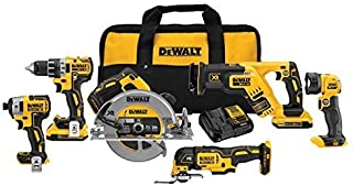 dewalt 20 volt brushless combo kit