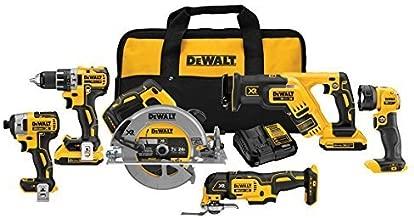 DEWALT 20V MAX XR Brushless Combo Kit, Compact 6-Tool (DCK684D2)
