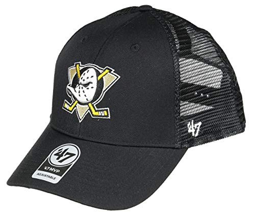 '47 Brand NHL Anaheim Ducks MVP Branson Baseballcap Cap Kappe Basecap Trucker