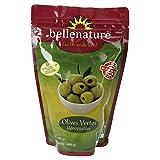 Belle Nature Olives Sachet Vertes Dénoyautés Bio 600 g