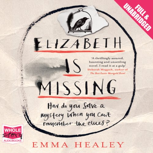 Elizabeth Is Missing                   By:                                                                                                                                 Emma Healey                               Narrated by:                                                                                                                                 Anna Bentinck                      Length: 11 hrs and 31 mins     2,267 ratings     Overall 4.2