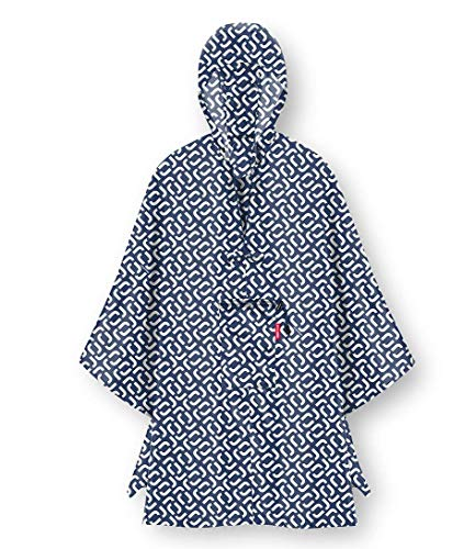 reisenthel Unisex Poncho-AN4073 Poncho, blau, One size