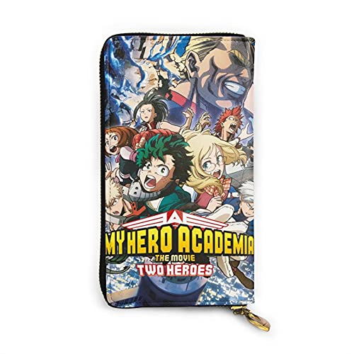My Hero Academia Anime Men'S Slim Wallet Men'S Long Wallet