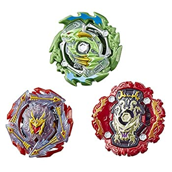 Beyblade Burst Rise Hypersphere Battle Heroes 3-Pack -- Ace Dragon D5 Rudr R5 Viper Hydrax H5 Battling Game Tops Toys Ages 8 and Up