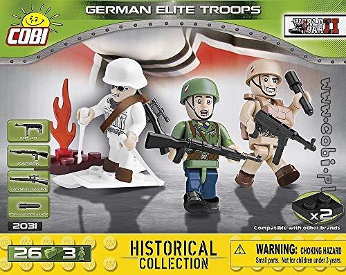 Invierno 26KL 2032 3FIG. COBI HC WWII Red EJ/ÉRCITO