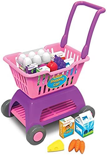 The Learning Journey Play and Learn Shopping Cart Playset, Multi by The Learning Journey