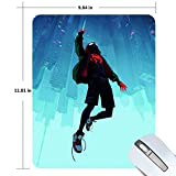 Spider-Man Gaming Mouse Pad Non-Slip Rubber Mousepad 11.81 X 9.84 inches Rectangle Mouse Mat Smooth Surface Mouse Pads