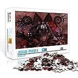 DUANGONGZI Puzzles imposibles 500 Piezas Warhammer Jigsaw Puzzles Juego Desafiantes y educativos Puzzles Juegos Juguetes 52x38cm
