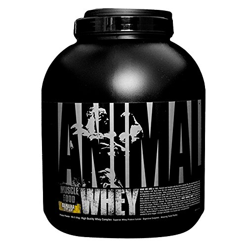 Animal Whey Isolate Whey Protein Powder – Isolate Loaded for Post Workout and Recovery – Low Sugar with Highly Digestible Whey Isolate Protein - Banana Cream - 4 Pounds