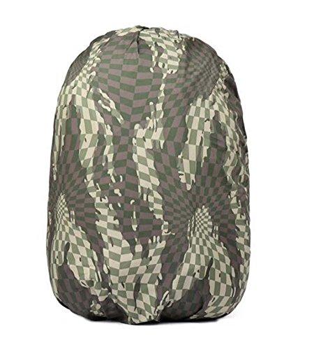 Black Temptation Camouflage Sac à Dos Housse de Pluie Trolley Case Housse de Protection Étanche, A