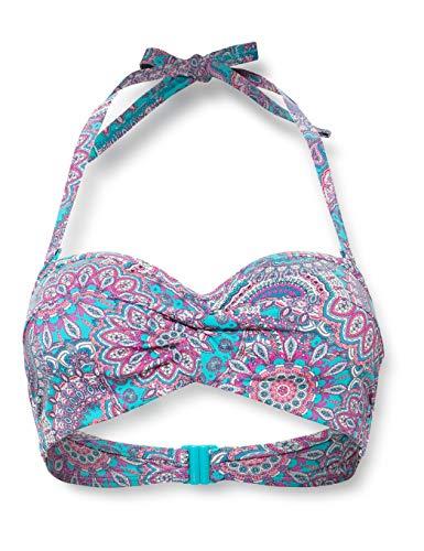 ESPRIT Bodywear Damen Knox Beach Padded Bandeau BC Bikini, 430, 42 F