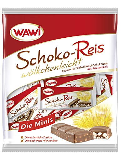 WAWI Schoko Reis Edelvollmilch Minis, 200 g