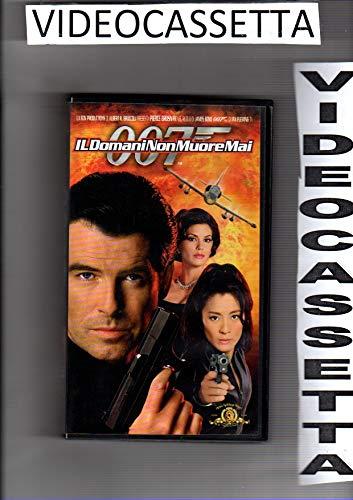 007 - IL DOMANI NON MUORE MAI - PIERCE BROSNAN - VHS