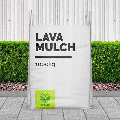 Lavamulch rot/braun 2-8mm als dekorative Gartenabdeckung 5-1000kg inkl. Lieferung (1000)