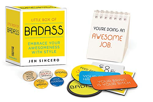 Compare Textbook Prices for Little Box of Badass: Embrace Your Awesomeness with Style RP Minis Pap/Unbnd Edition ISBN 9780762465200 by Sincero, Jen