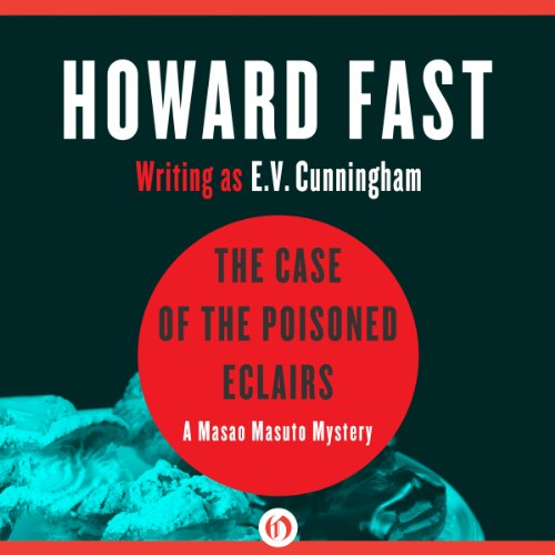The Case of the Poisoned Eclairs audiobook cover art