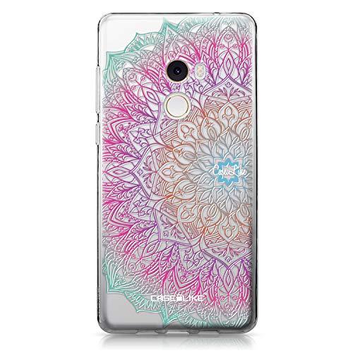 CASEiLIKE® Funda Mi Mix 2, Carcasa Xiaomi Mi Mix 2, Arte de la Mandala 2090, TPU Gel Silicone Protectora Cover