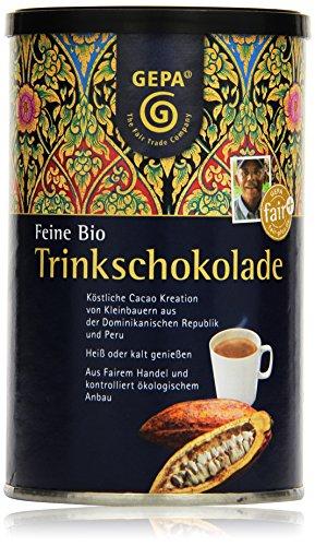 GEPA Feine Bio Trinkschokolade (1 x 250 g Packung) - Bio