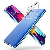 ORNARTO Funda para Samsung A50, A30s Transparente Delgada Silicona Flexible Ajuste Proteger Caso...