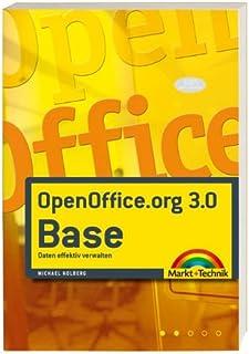 OpenOffice.org 3.0 Base: Daten effektiv verwalten