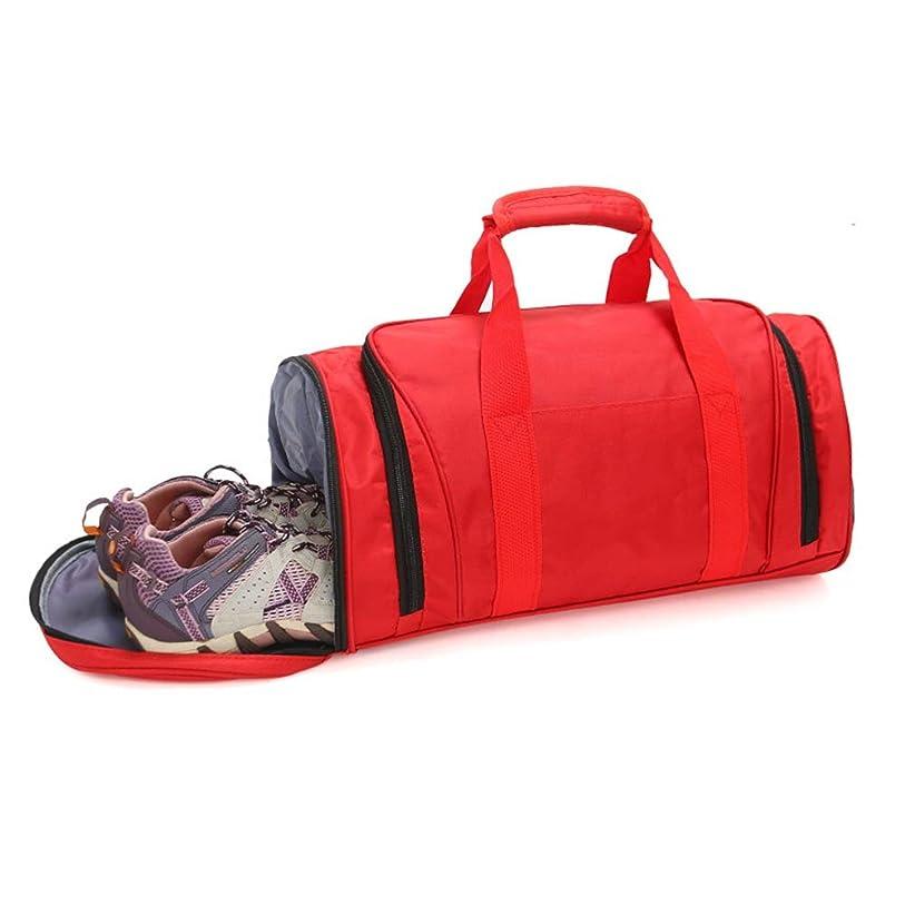 フリースしたい酸化するスポーツジムバッグ フィットネスバッグスーツ収納袋トラベルバッグポータブルスポーツおよびレジャーバッグ収納袋ビーチハンドバッグキャンプバッグデイリートラベルバッグ 旅行バッグ トラベルバッグ (色 : Purple, Size : 49x24x24cm)
