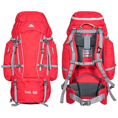 Trespass Zaino Trek 33-33 Liters Rosso 33 Litre
