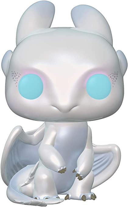 Funko Pop! Movies: How to Train Your Dragon 3 - Light Fury,Multicolor