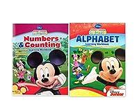 [ディズニー]Disney Mickey Mouse Clubhouse Workbook and Flashcard Learning Bundle includes Alphabet Learning Workbook + [並行輸入品]